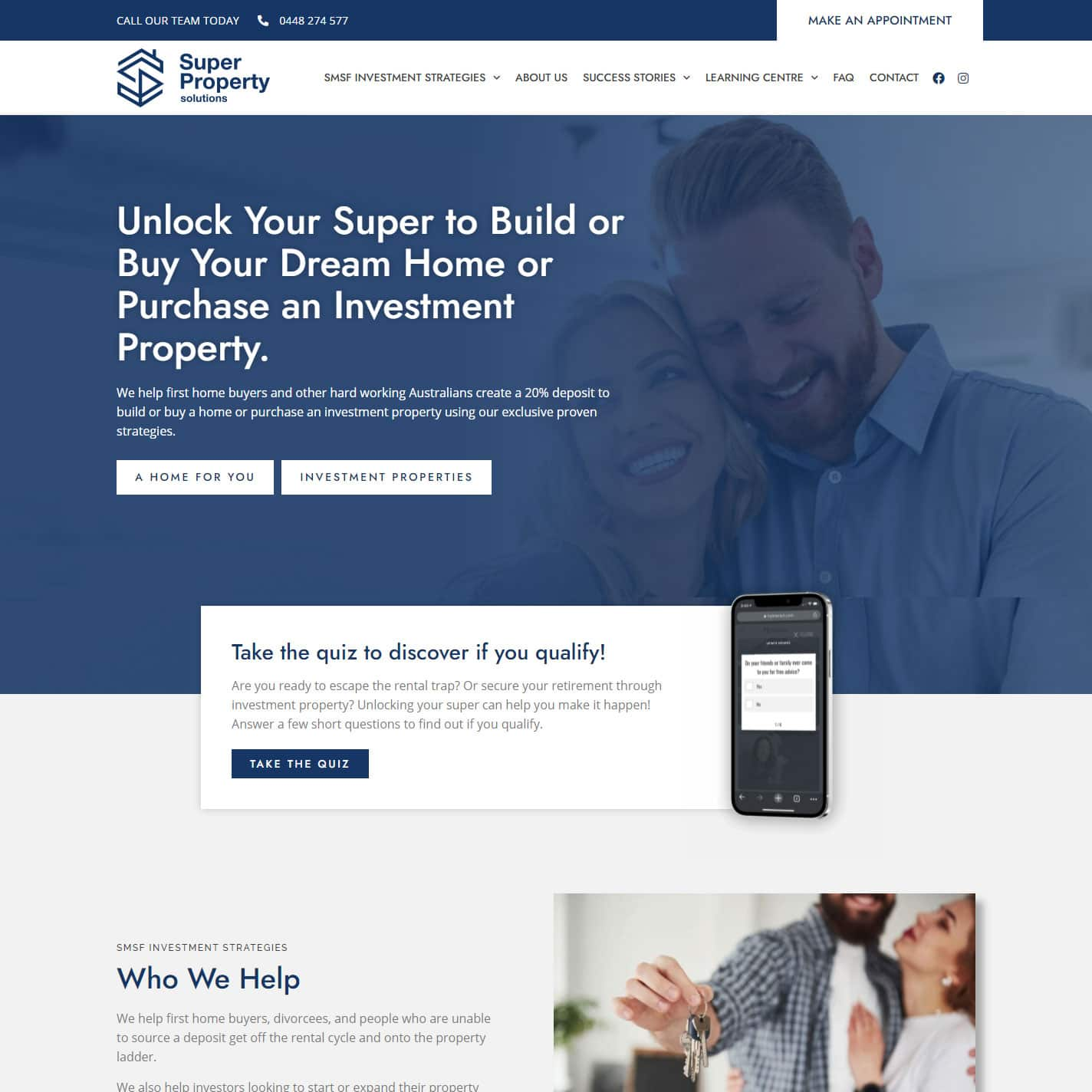 super-property-solutions-website